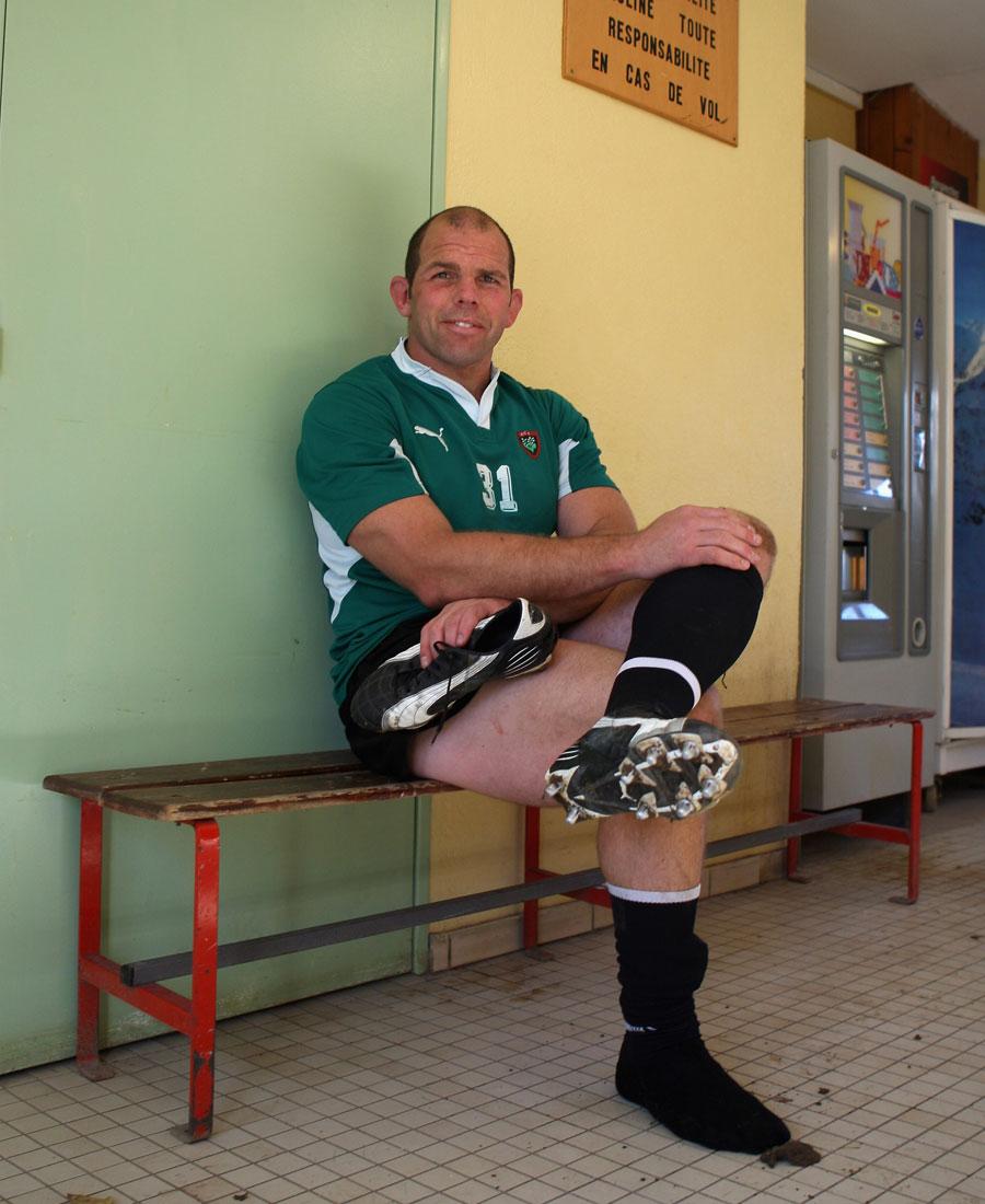 Toulon hooker Anton Oliver
