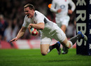 England wing Chris Ashton flies in to score