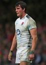 England flanker Tom Wood