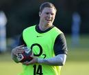England winger Chris Ashton in relaxed mood