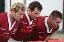 Jannie Du Plessis, Bismarck Du Plessis and John Smit