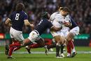 England No.8 Nick Easter storms forward
