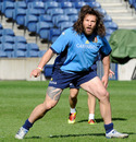 Italy prop Martin Castrogiovanni calls for the ball