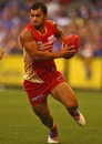 Former Biarritz player Karmichael Hunt in action in the AFL