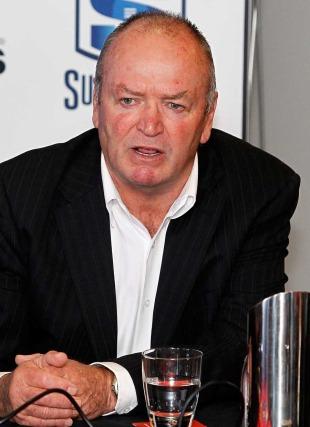 All Blacks head coach Graham Henry