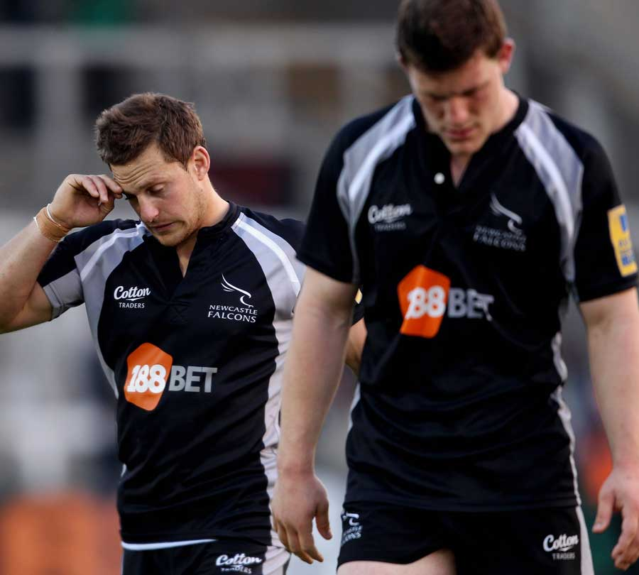 Newcastle's Jimmy Gopperth and Mark Wilson reflect on defeat to the Tigers