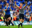 Leinster's Brian O'Driscoll and Shane Jennings pay tribute to the fans
