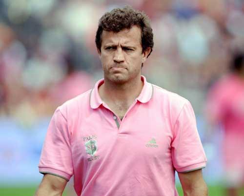Stade Francais coach Fabien Galthie