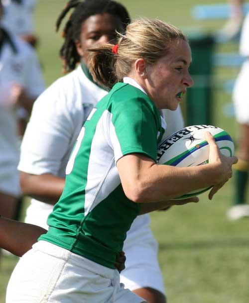 Ireland women's captain Sarahjane Belton