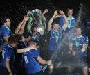 Leinster celebrate their Heineken Cup triumph