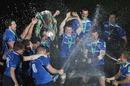 Leinster celebrate their latest Heineken Cup triumph