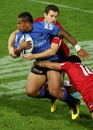 Western Force winger is shackled by the Reds