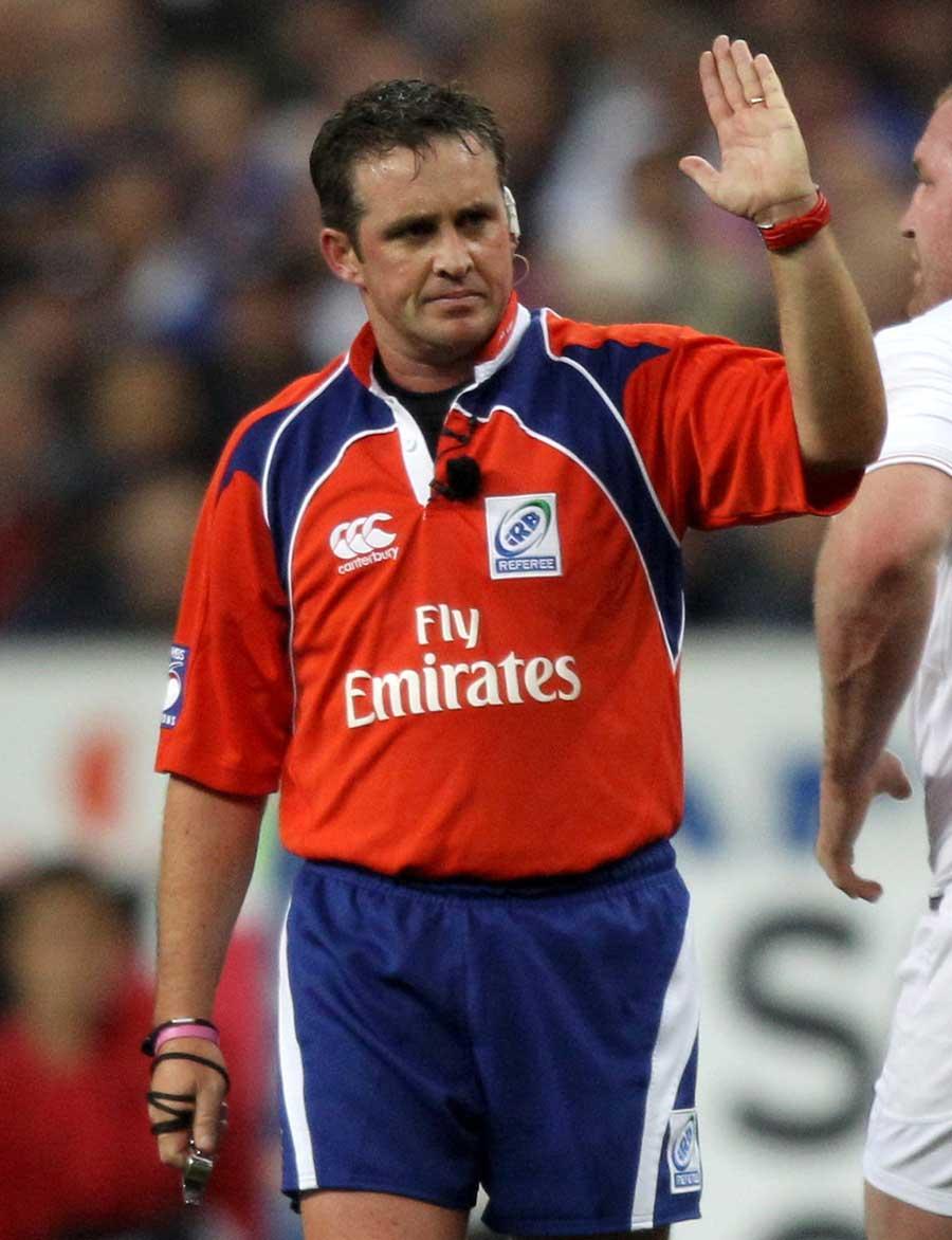 Kiwi referee Bryce Lawrence   Rugby Union   Photo   ESPN Scrum