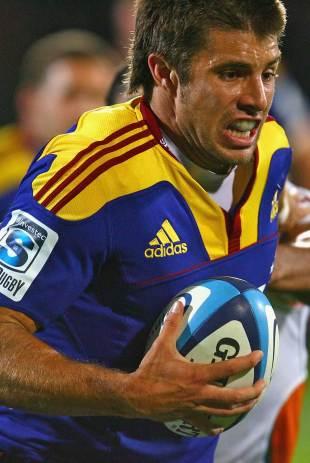 Highlanders winger James Paterson, Highlanders v Cheetahs, Super Rugby, Carisbrook, Dunedin, New Zealand, April 8, 2011
