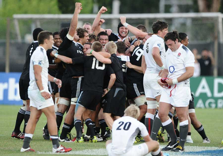 Joy and despair at the final whistle in the IRB JWC Final