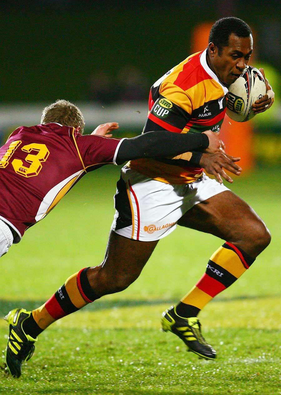 Waikato's Sitivei Sivivatu exploits some space