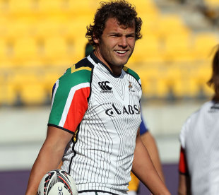 Gerhard Mostert looking relaxed