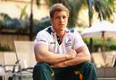 Australia flanker David Pocock poses for a portrait