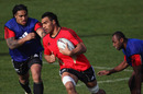 New Zealand's Victor Vito enjoys his late call-up to the squad