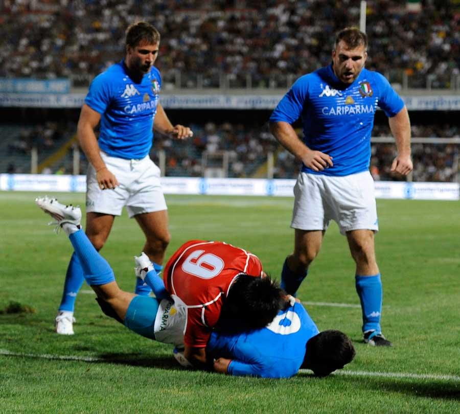 Try time for Italy's Edoardo Gori