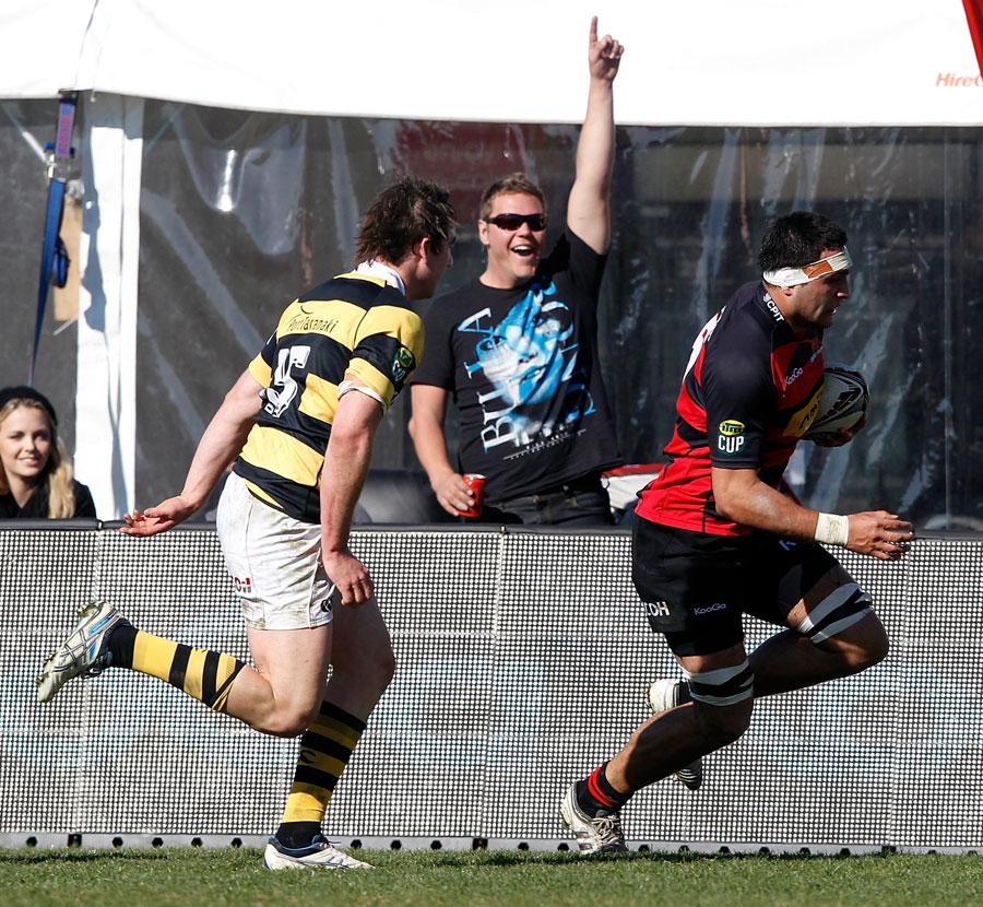 Canterbury lock Ash Parker cruises through to score
