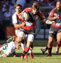 Toulon's Benjamin Lapeyre surges upfield