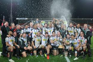 Canterbury celebrate their ITM Cup triumph