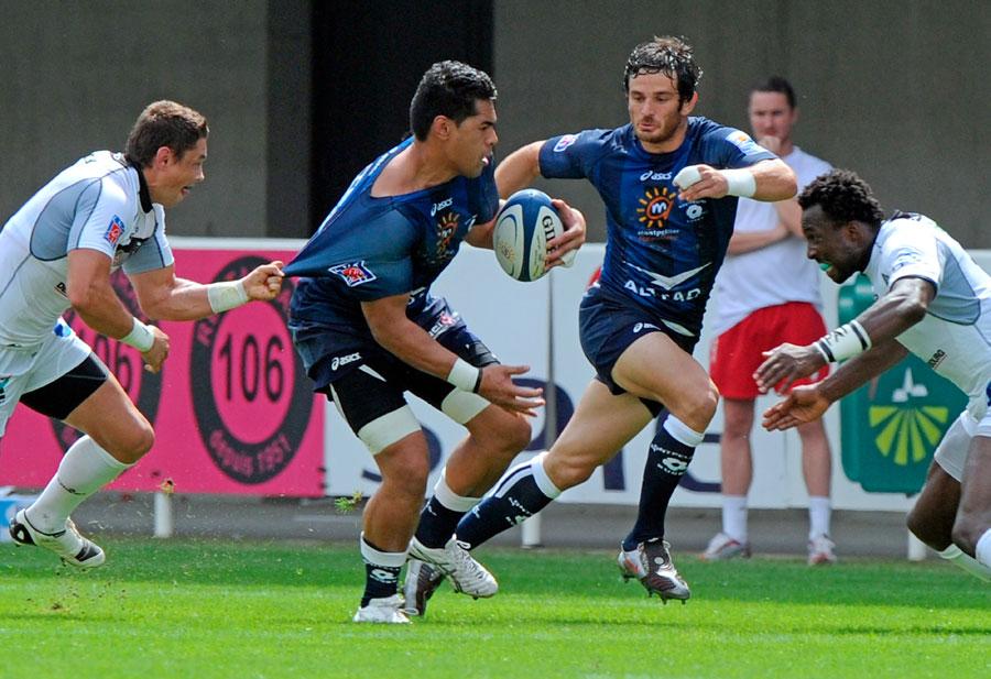 Montpellier No.8 Alex Tulou looks to break free