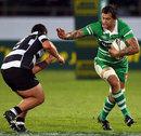 Manawatu's Reece Robinson charges forward