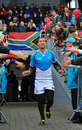 South African wing Gio Aplon is encouraged by the huge travelling Springbok support