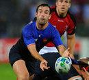 France's Morgan Parra spins the ball