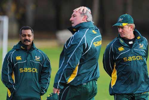 Peter de Villiers, Gary Gold and Dick Muir