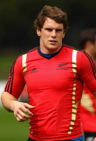 Matt Todd in action for the All Blacks at a training session, Trusts Stadium, Auckland, New Zealand, October 12, 2011