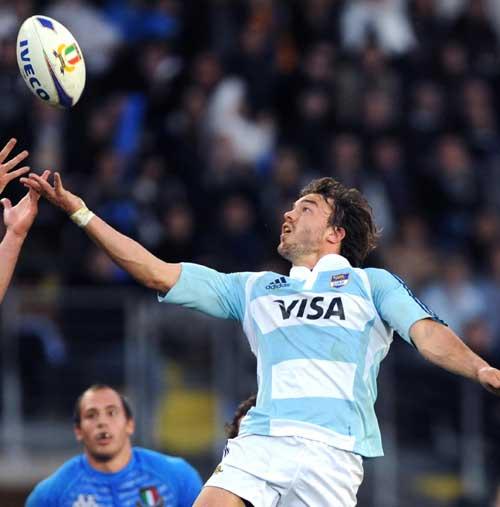 Argentina's Juan Martin Hernandez