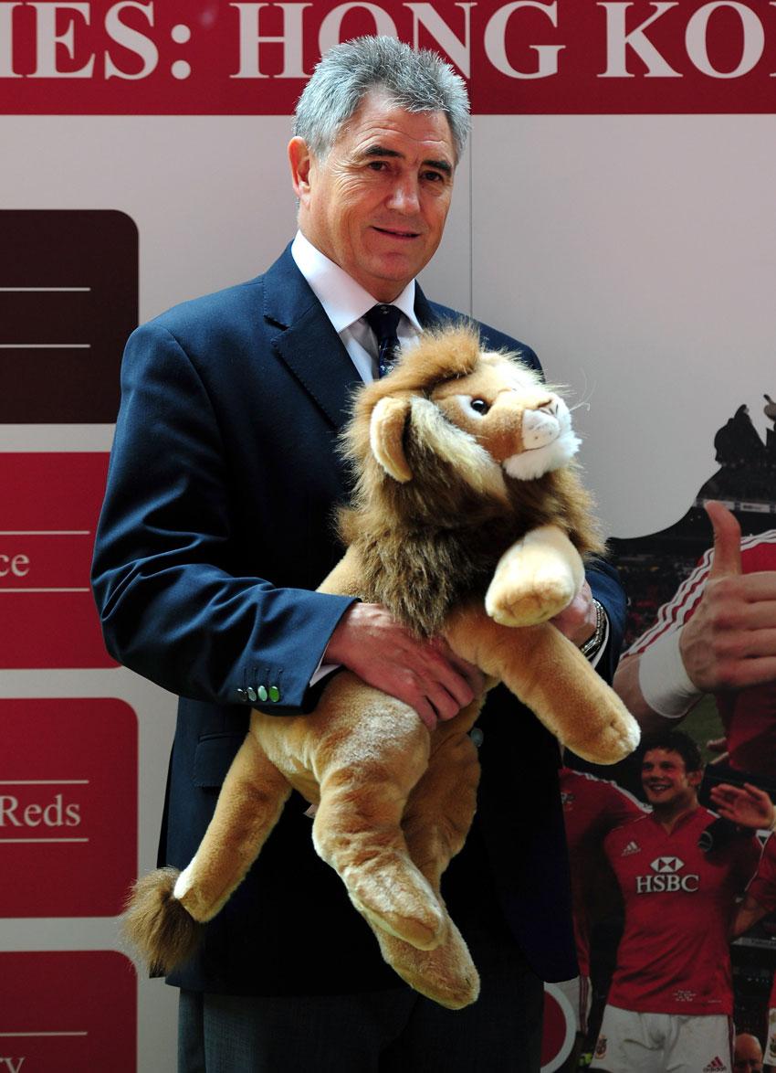 British & Irish Lions tour manager Andy Irvine