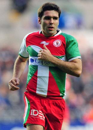 Biarritz scrum-half Dimitri Yachvili, Ospreys v Biarritz, Heineken Cup, Liberty Stadium, Swansea, Wales, November 12, 2011