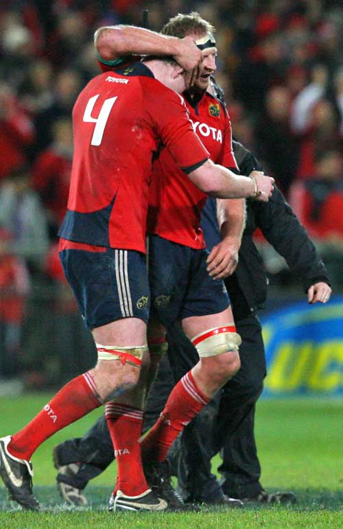 Munster's Donnacha Ryan