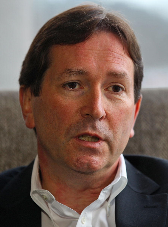 Premiership Rugby chief executive Mark McCafferty