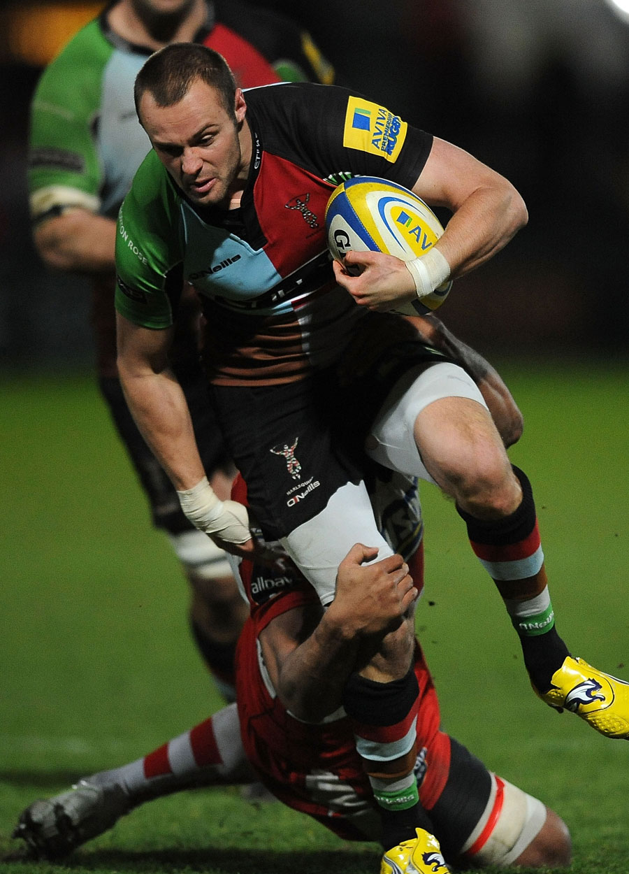 Harlequins' Ross Chisholm makes an impact against Gloucester