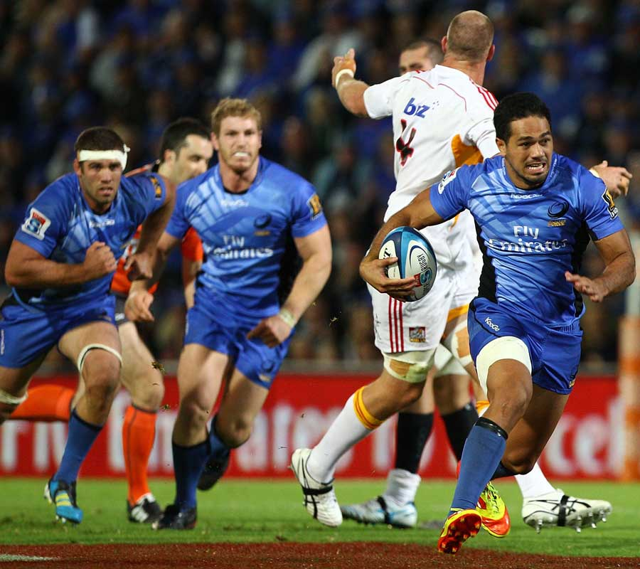 Western Force wing Alfi Mafi charges into space