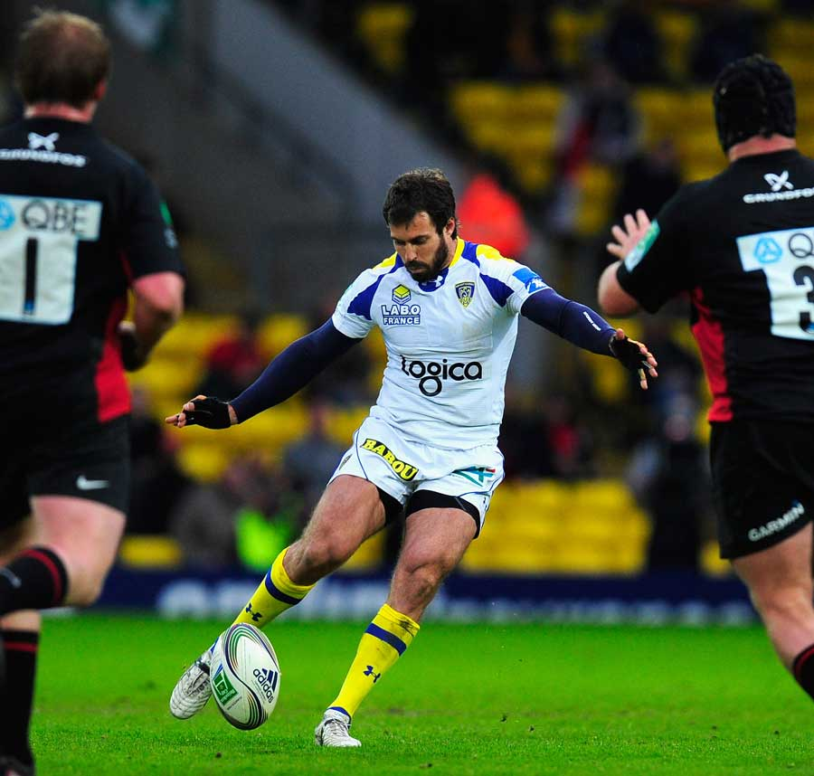 Brock James' boot helped Clermont into the semi-finals
