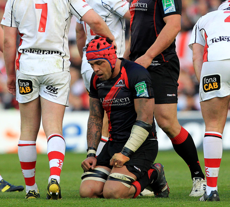 Edinburgh's Netani Talei reflects on defeat for his side