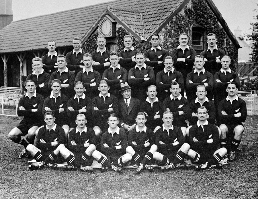 New Zealand touring squad 1935-36