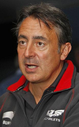 Scarlets coach Nigel Davies, Heineken Cup launch, Millennium Stadium, Cardiff, Wales, September 27, 2010