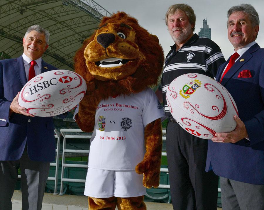 Andy Irvine, Derek Quinnell and Gerald Davies