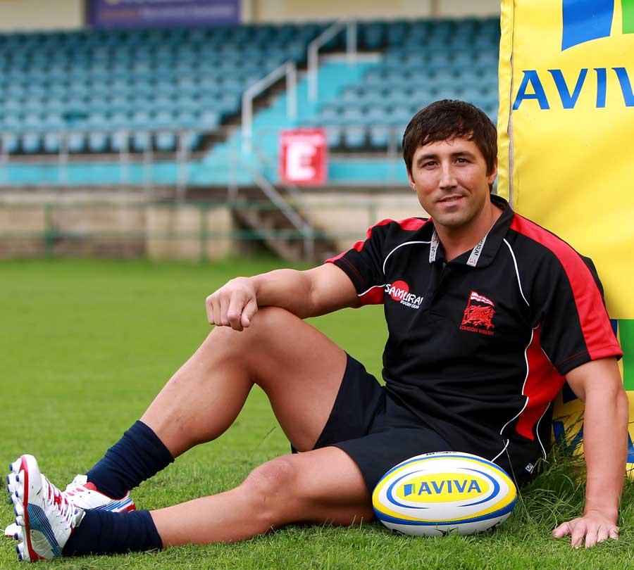 London Welsh unveil new signing Gavin Henson