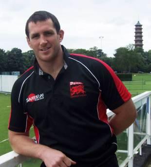 London Welsh unveil Gareth Evans, Old Deer Park, London, July 17, 2012
