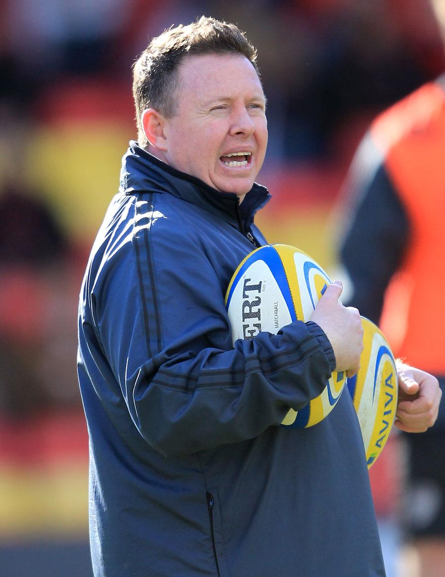 Leicester Tigers head coach Matt O'Connor