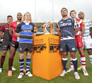 The captains pose ahead of the J.P. Morgan 7s finale