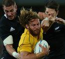 Australia's Scott Higginbotham charges forward